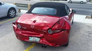 who owns mazda new mx 5 owner crashes his car right after delivery mazda replaces it