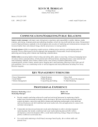 public relations manager resume kevin u0027s resume hc media relations update i