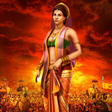 draupadi contemporary graphic style mahabharata pinterest