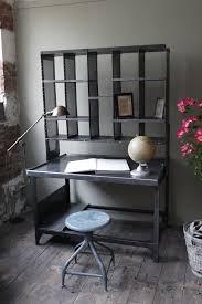 bureau style atelier meuble metier grand bureau tri postal industriel atelier loft house