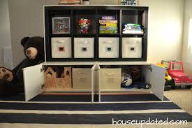 ikea hacks storage diy playroom storage house updated