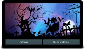 free live halloween wallpaper nightfall live wallpaper free android apps on google play