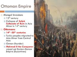 Ottoman Founder Ap World History Mr Charnley Ppt