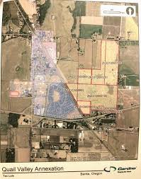 map of oregon tax lots quail valley golf course property get annexation ok from
