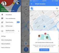 Google Maps Save Offline How To Share Your Live Location In Google Maps With Friends