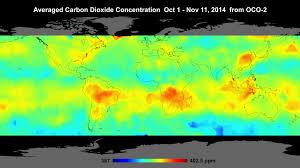 Satellite Maps 2015 Finally Visualized Oco2 Satellite Data Showing Global Carbon