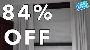 84 off best blackout curtains window blinds the deal guy