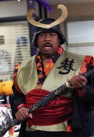 Samurai Halloween Costume Stanley Samurai Office Halloween Pictures Popsugar