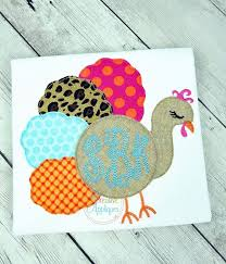 thanksgiving creative appliques