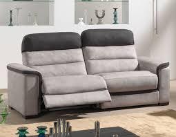 canape relax tissu canape relaxation électrique 3 places tissu hcommehome