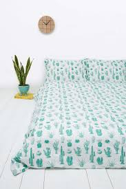 Patterns For Duvet Covers Cactus Print Duvet Set At Urban Outfitters Decor Print Pattern