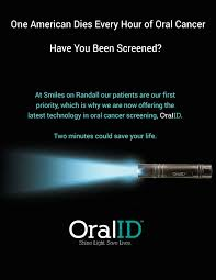 Get oral cancer screening at Smiles Randall in Carpentersville IL