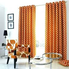 Orange And White Curtains Orange Curtains Orange White And Gray Curtains Burnt Orange