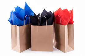 gift bags bulk kraft paper gift bags with handles best for birthday shopping