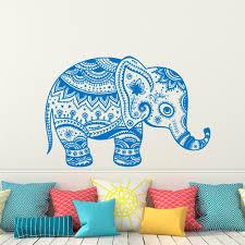 Wall Decals Mandala Ornament Indian by Online Get Cheap Elephant Mandala Sticker Aliexpress Com