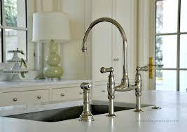 bridge style kitchen faucets kitchen bridge faucets photogiraffe me
