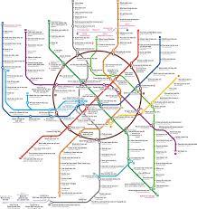 Portland Metro Map by