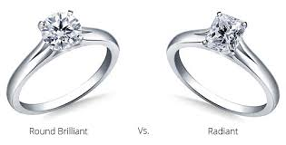 Difference Between Engagement Ring And Wedding Band by Radiant Cut Engagement Rings Info On Diamonds Quality Value