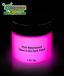 glow in paint glominex glow paint 1oz jar pink coolglow