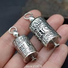 box lockets tgb055 tibetan copper bible wheel prayer box pendant tibet