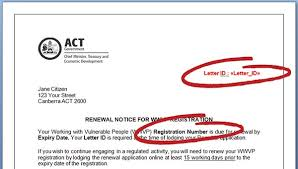 working with vulnerable people wwvp registration renewal