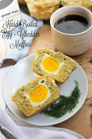 egg boiled boiled egg and cheddar muffins gluten free recipe