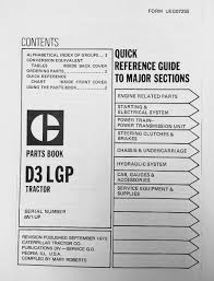 caterpillar cat d3 6n 1 885 dozer parts manual book ueg0725s ebay