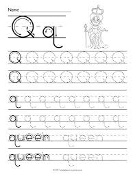 tracing letter p worksheet