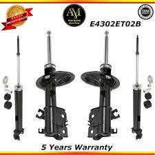 nissan altima 2005 rear shocks shock absorbers fits 02 08 nissan altima maxima 2 5l 3 5l ebay