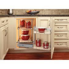 Kitchen Corner Cabinet Storage Solutions by Decor Corner Kitchen Cabinet Solutions And Rev A Shelf Blind Corner