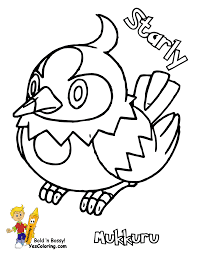 empoleon coloring page kids coloring