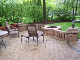 Paver Patios With Fire Pit by Paver Patios