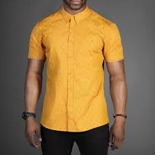 Yellow Mustard Color D Struct Key Print Mustard Yellow Shirt Wehustle Menswear