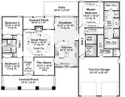 house plans country house plan with 3 bedrooms and 2 5 baths plan 7142