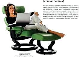 Ekornes Stressless Chair Chair Ottoman With Classic Base Ekornes