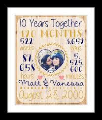 10 year anniversary gift husband best 25 10 year anniversary gift ideas on 10 years