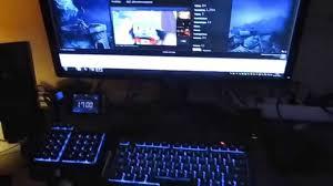 pc and livingroom setup v 1 youtube