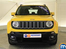 jeep yellow used yellow jeep renegade for sale rac cars