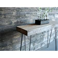 Diy Console Table Plans Reclaimed Wood Console U2013 Smartonlinewebsites Com