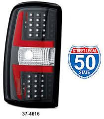 2006 gmc sierra tail lights led tail light sets 2000 06 chevrolet tahoe and suburban 2000 2006