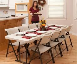 8 foot lifetime table so lifetime fold in half tables 80075 8 ft almond color 12 pack