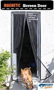 storm door with dog door swinging screen door with glassine