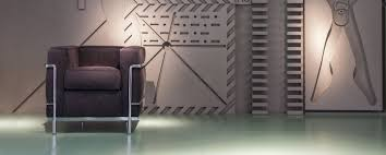 Esszimmerst Le Leder Chrom Lc2 Sessel Gestell Chrom Cassina Einrichten Design De