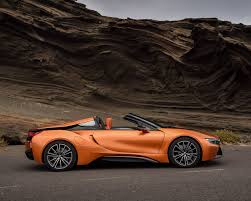 tesla roadster 2019 2019 bmw i8 roadster raises the roof on hybrid power 95 octane