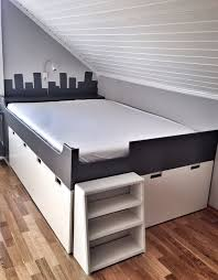 storage beds ikea hackers and beds on pinterest a captain bed with extra storage place storage 50th and spaces