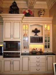 Kitchens With Antique White Cabinets by Antique Brown Kitchen Cabinets Best Home Decor