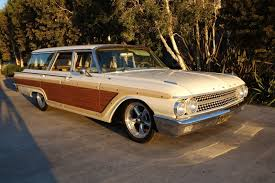 1961 country squire woody surf wagon california car factory a c