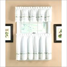 Modern Cafe Curtains Cafe Curtains For Kitchen Size Of Window Treatments Modern