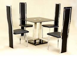Dining Table Design With Round Glass Top Dining Room Dining Room Furniture Star Shape Brown Polished