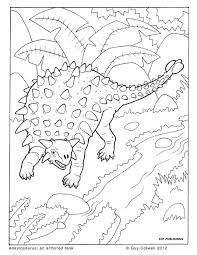 dinosaurs colouring animal coloring pages for kids